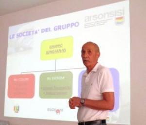 Ivan Fornari, Arsonsisi Technological Coatings Sales Director
